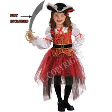 Kids Halloween Costumes Girls Arrive Halloween Christmas Pirate Costumes Girls Party Cosplay