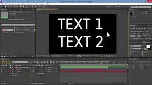 tutorial kinetic typography after effects kinetic typography basics tutorial adobe after effects quick layout
