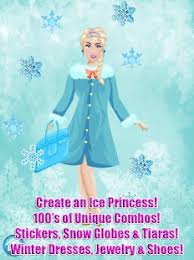 ice princess spa salon snow queen fun kids games android apps