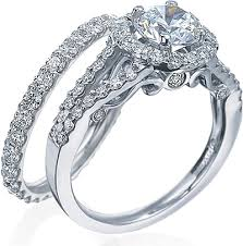 verragio wedding rings verragio split shank engagement ring with halo ins 7010r