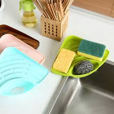 Aliexpresscom  Buy Kitchen Sink Corner Storage Rack Sponge - Kitchen sink sponge holder