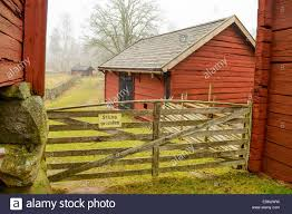 The Tool Barn Farm Environment In Sweden From Around The Years 1700 To 1800
