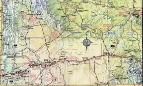 Durant Wyoming Map Wyoming Map