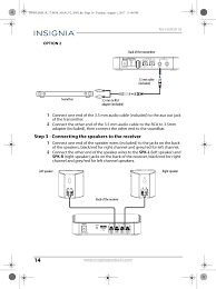 rca blu ray home theater manual nshursk universal rear speaker users manual ns hursk18 17