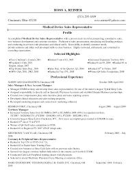 pharmaceutical sales representative resume sample resume