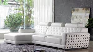 White Italian Leather Sectional Sofa Creative Of White Italian Leather Sofa Modern White Leather Sofa