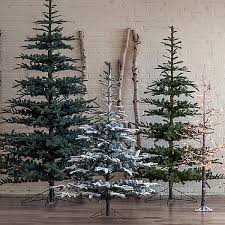 faux noble fir firs woods and christmas decor