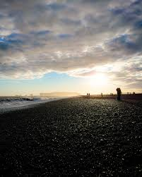 beaches with black sand black sand beach iceland album on imgur