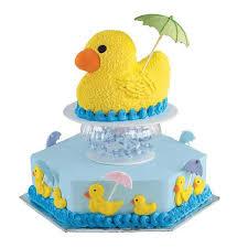 duck baby shower cake