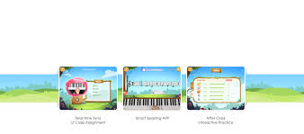 smart class app the one smart piano classroom