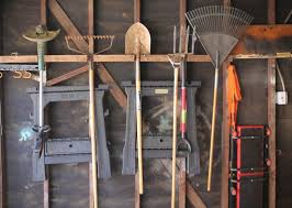 how to hang tools in shed backyards organize garden tools ways to organize garden tools