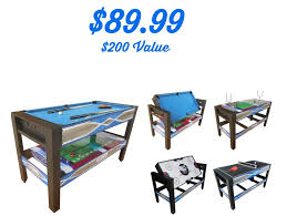 4 In 1 Game Table Kmart 89 99 Sportcraft 4 In 1 Swivel Game Table 200 Value