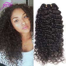 no part weave hairstyles mongolian tight curl virgin hair thick virgin hair bundles kinky
