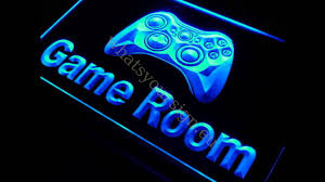 image gallery neon game room lighting