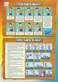 tutorial sholat dan bacaannya panduan tata cara wudhu dan shalat ebook anak