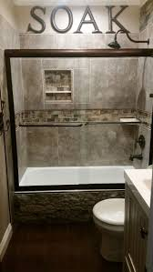 best 25 stone tub ideas on pinterest diy bathroom furniture diy rustic small guest bathroom accented with airstone faux stone on the side