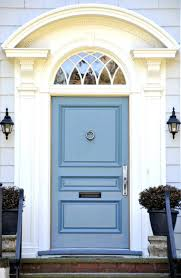 colors for front doors the front exterior house painted white it periwinkle blue door