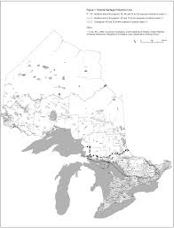Map Of Ontario Government Notices Respecting Corporations Ontario Ca