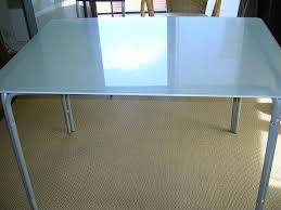 table de cuisine ikea en verre table verre ikea ikea markor tissu ameublement bref le de table