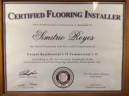 certifications nfic installer cfi technical doraville ga
