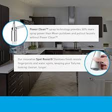 moen 7294srs arbor spot resist stainless pullout spray kitchen moen 7294srs arbor one handle high arc pullout kitchen faucet spot