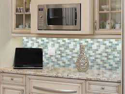 home design unique glass tile backsplash for kitchen pictures