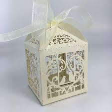 paper petal boxes for wedding showers baby favors chocolate
