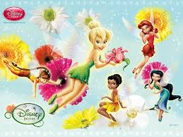 wallpapers tinkerbell flower drop tinker bell sus amigos im