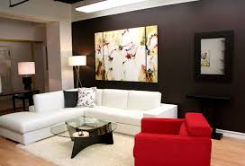 interior impressive accent wall living room pictures black