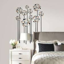 Chandelier Wall Decal Flowers Wall Decals Wall Decor The Home Depot