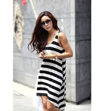 korean fashion womens beach wear swimsuits cover up striped