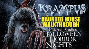 halloween horror nights 2015 dates krampus haunted house walkthrough halloween horror nights
