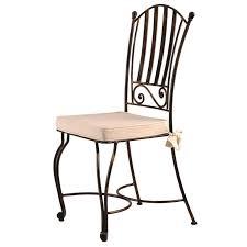 chaises en fer forg chaise en fer forgé barunsonenter com