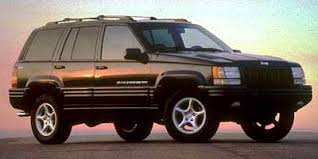 jeep grand invoice price 1998 jeep grand utility 4d limited 4wd 5 9l expert