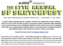 17th annual sf sketchfest announces adds rachel