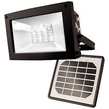 bright light solar bright 12 led dusk solar powered flood light t4497