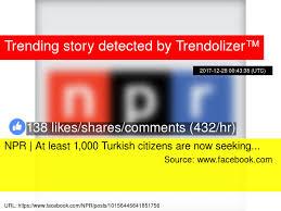 Seeking Npr Npr At Least 1 000 Turkish Citizens Are Now Seeking