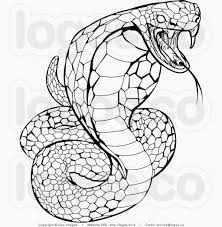 pit viper coloring page cobra pictures to color king cobra