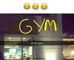 Macdonalds Meme - dopl3r com memes i m at the gym gym with the m of mcdonalds