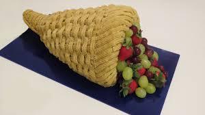 cornucopia thanksgiving cake cupcakegirl