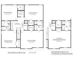 1 5 story house floor plans house plan 2691 a mccormick 2nd floor plan 2691 square feet 39