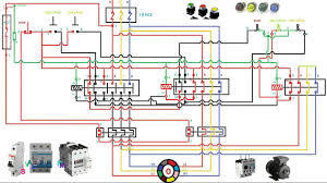 wiring diagram for a 3 phase 2 speed motor the wiring diagram with
