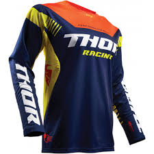 design jersey motocross thor fuse propel motocross jersey navy red orange 2017 mxweiss