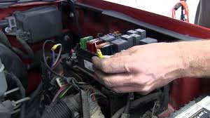 installation of a trailer brake controller on a 2000 chevrolet