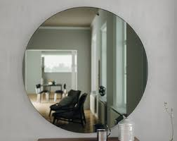 Period Bathroom Mirrors by 40 Round Mirror Round Mirror With Hand Made Glass And
