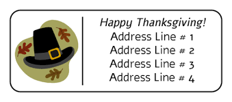 thanksgiving label templates download thanksgiving label designs