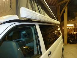 Vw California Awning Fiamma Awning On T5 With Pop Top Vw T4 Forum Vw T5 Forum