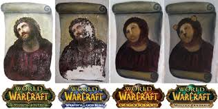 World Of Warcraft Meme - world of warcraft expansions as jesus fresco memes