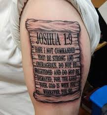 stunning biblical verse tattoo creativefan