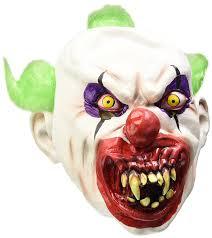 smiffy u0027s sinister clown mask amazon co uk toys u0026 games